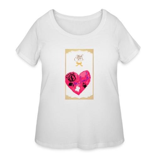 Heart of Economy 1 - Women's Curvy T-Shirt