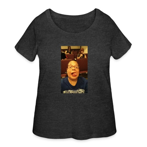 GET SMITHY WITH IT - Women's Curvy T-Shirt
