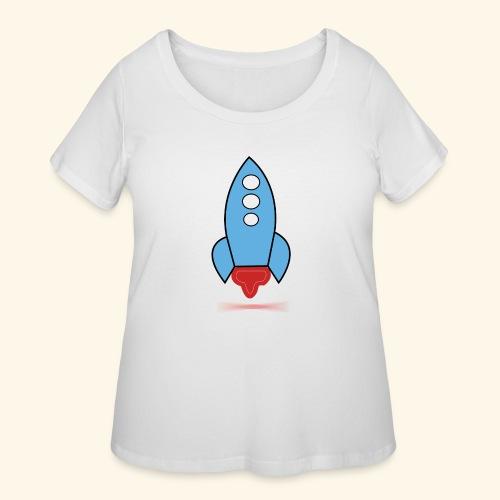 simplicity - Women's Curvy T-Shirt