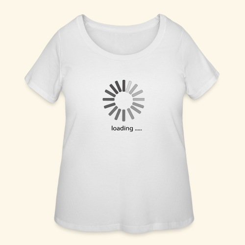 poster 1 loading - Women's Curvy T-Shirt