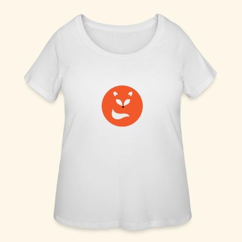 Orange fox - Women's Curvy T-Shirt