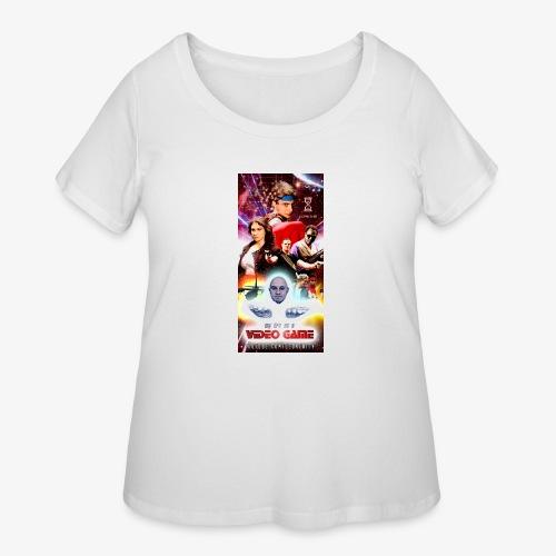 Phone Case Test png - Women's Curvy T-Shirt