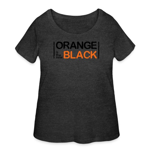 Free Piper, Orange is the New Black Women's - Women's Curvy T-Shirt