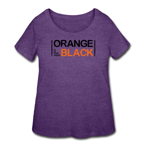 Free Piper, Orange is the New Black Women's - Women's Curvy T-Shirt