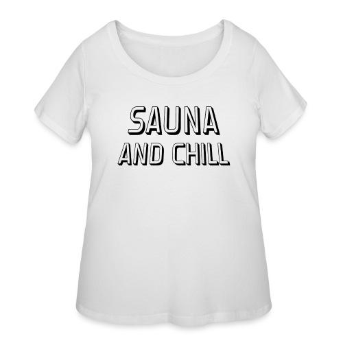 DS - Sauna And Chill - Women's Curvy T-Shirt