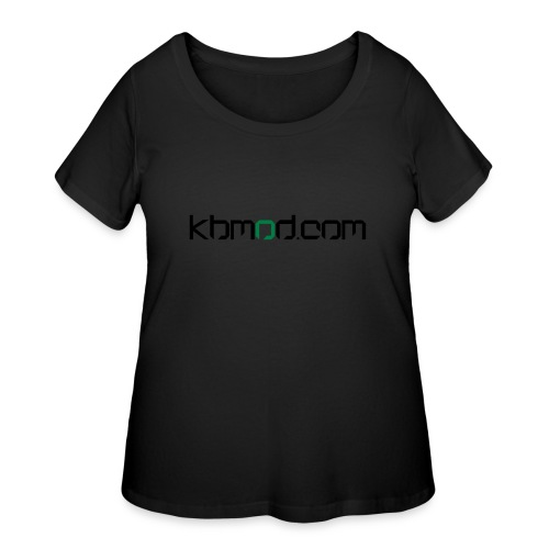 kbmoddotcom - Women's Curvy T-Shirt