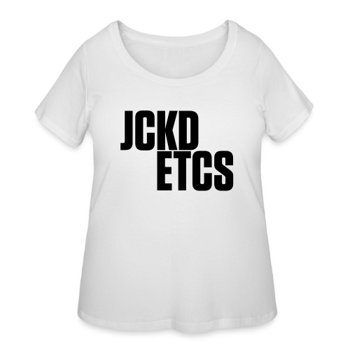 JE_BACK - Women's Curvy T-Shirt