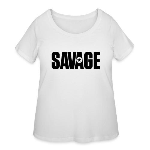 SAVAGE - Women's Curvy T-Shirt