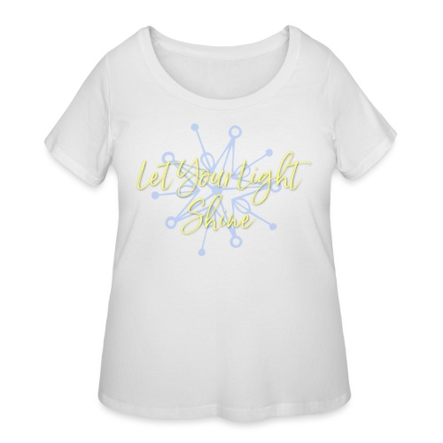 Let Your Light Shine Collection - Women's Curvy T-Shirt