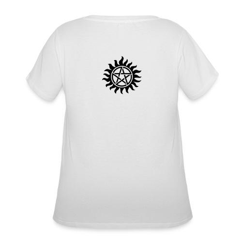 Supernatural Tattoo - Women's Curvy T-Shirt