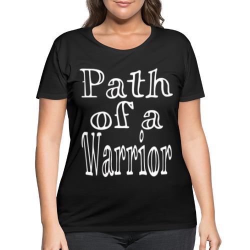 Path of a Warrior - Women's Curvy T-Shirt