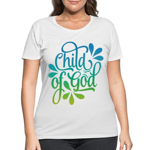 Child of God - Women's Curvy T-Shirt