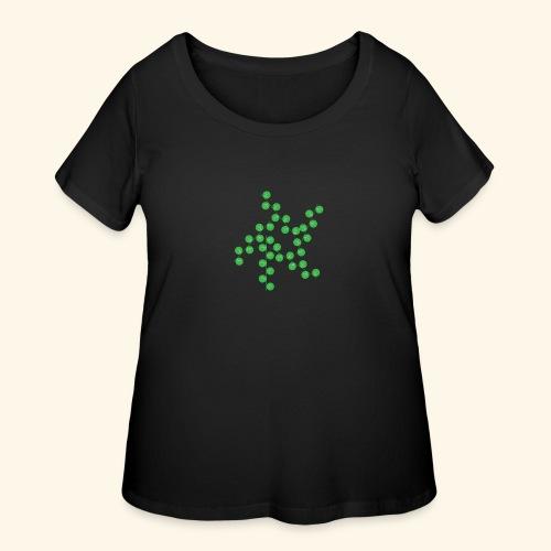 leafs life - Women's Curvy T-Shirt