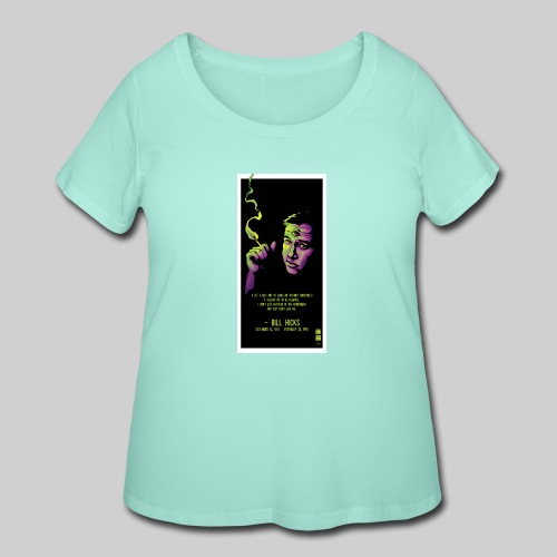 Bill Hicks - Women's Curvy T-Shirt