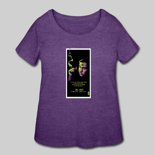Bill Hicks - Women's Curvy T-Shirt