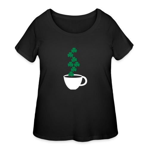 irishcoffee - Women's Curvy T-Shirt