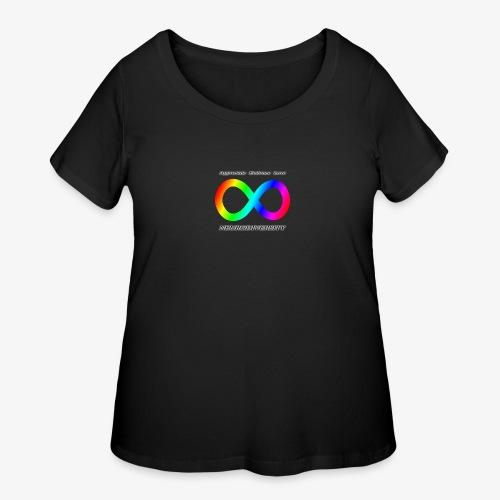 Embrace Neurodiversity - Women's Curvy T-Shirt