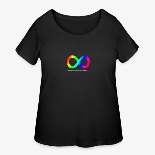 Neurodiversity - Women's Curvy T-Shirt
