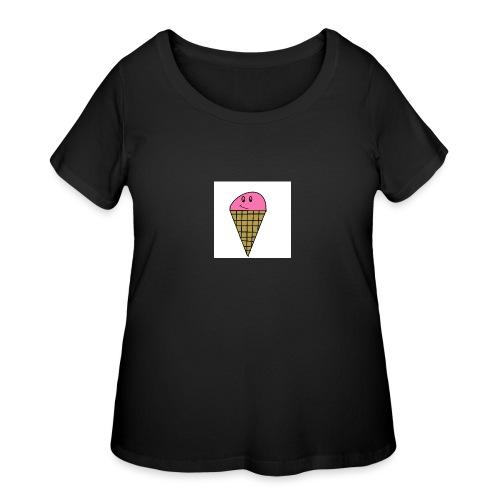 ICE CREAM - Women's Curvy T-Shirt
