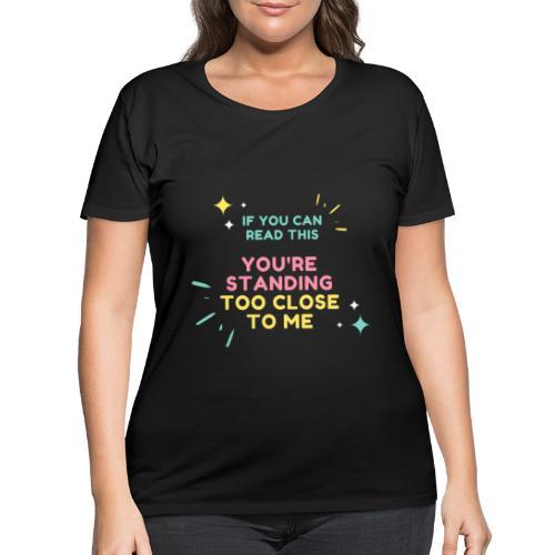 IF YOU CAN - Women's Curvy T-Shirt