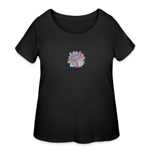 CrystalMerch - Women's Curvy T-Shirt