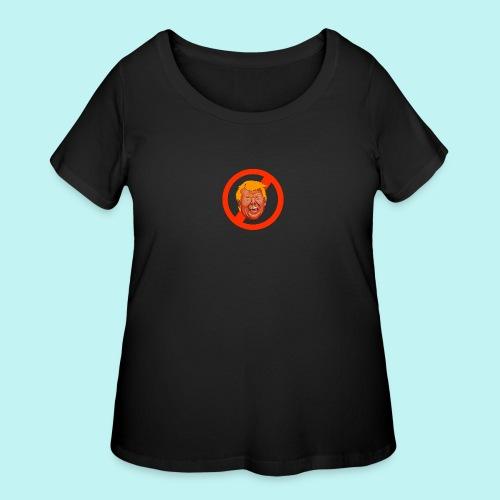 Dump Trump - Women's Curvy T-Shirt