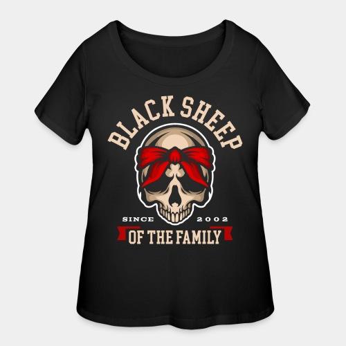 black sheep of the family - Women's Curvy T-Shirt