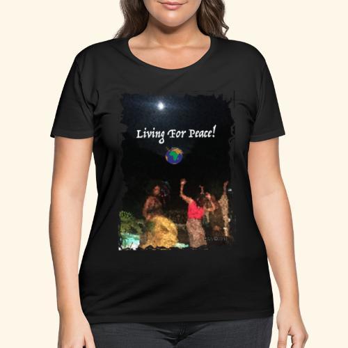 Lvg4Pce2 - Women's Curvy T-Shirt