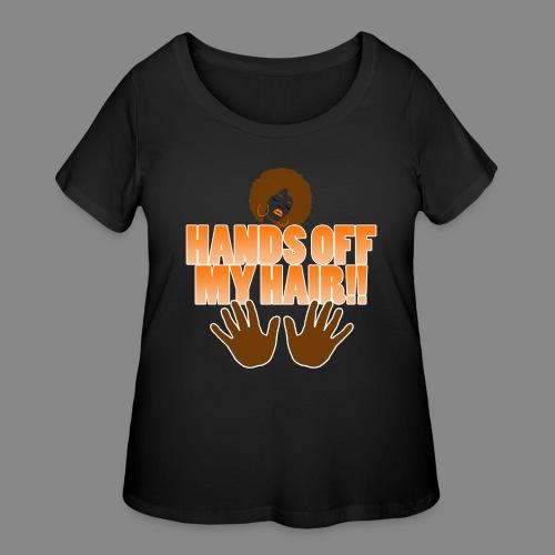 Hands Off! - Women's Curvy T-Shirt