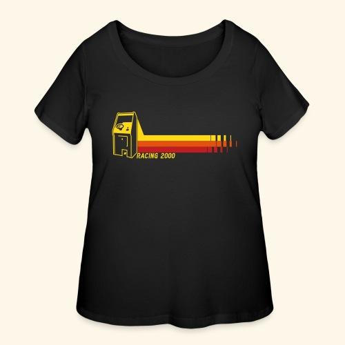 Racing2000 - Women's Curvy T-Shirt