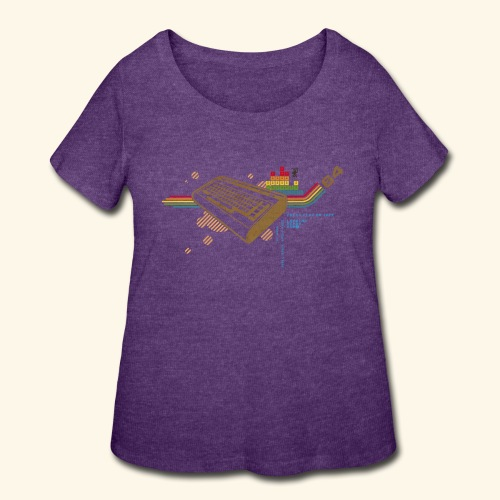 collage64 - Women's Curvy T-Shirt