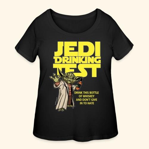 jeditest - Women's Curvy T-Shirt