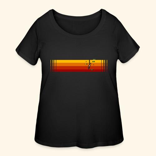bigPixel4 - Women's Curvy T-Shirt