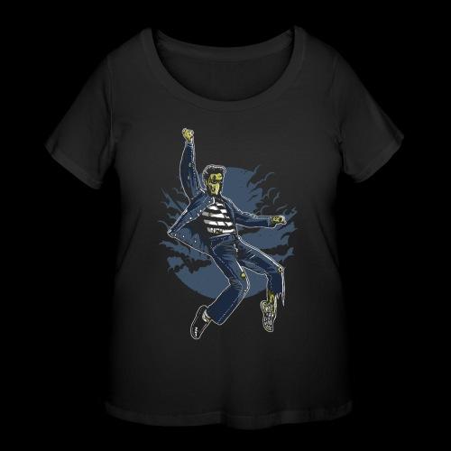 Zombie King - Women's Curvy T-Shirt