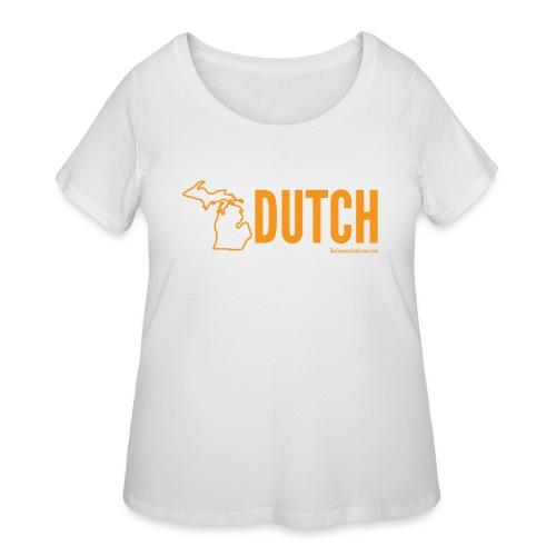 Michigan Dutch (orange) - Women's Curvy T-Shirt