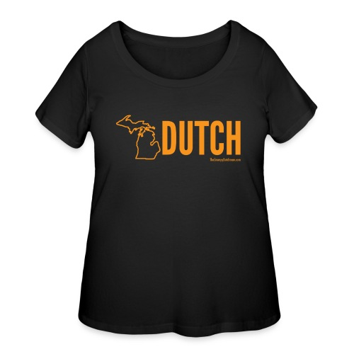 Michigan Dutch (orange) - Women's Curvy T-Shirt