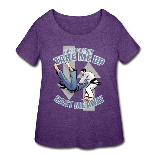 Like Excalibur - Women's Curvy T-Shirt