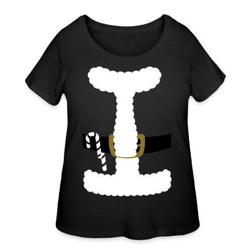 SANTA CLAUS SUIT - Men's Polo Shirt - Women's Curvy T-Shirt