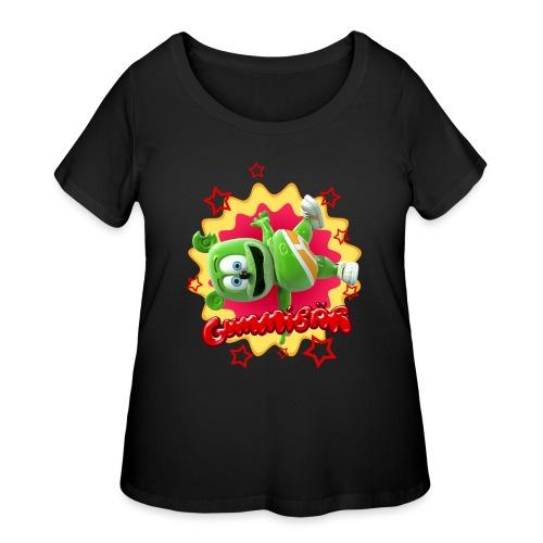 Gummibär Starburst - Women's Curvy T-Shirt