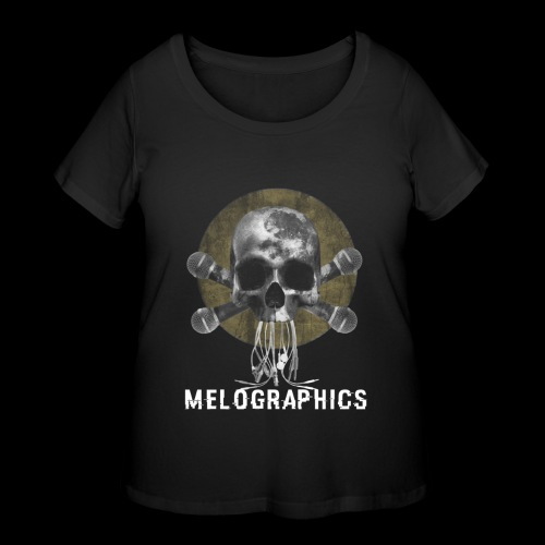 No Music Is Death - Women's Curvy T-Shirt