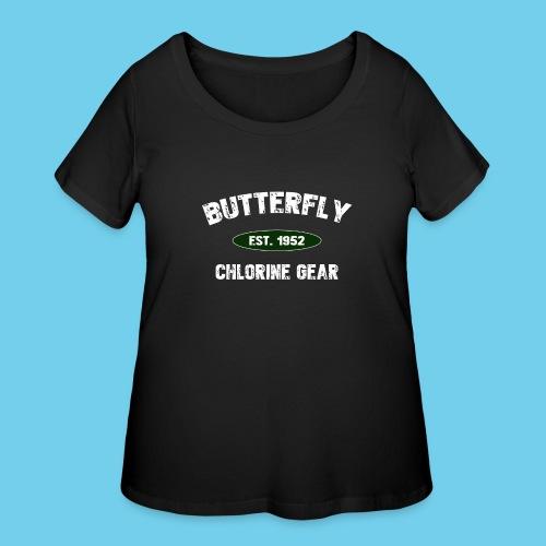 Butterfly est 1952-M - Women's Curvy T-Shirt