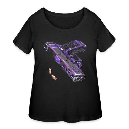 Gun - Women's Curvy T-Shirt