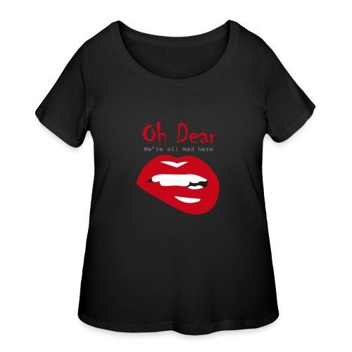 Oh Dear - Women's Curvy T-Shirt