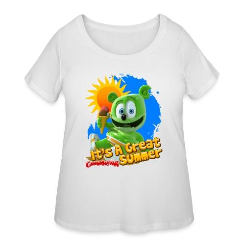 It's A Great Summer - Women's Curvy T-Shirt