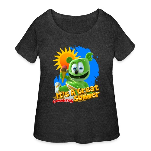 It's A Great Summer - Women's Curvy T-Shirt