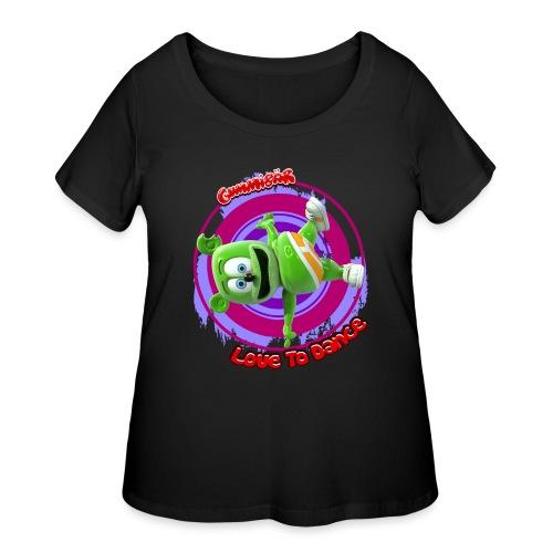 Love To Dance - Women's Curvy T-Shirt