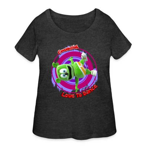 Love To Dance - Women's Curvy T-Shirt