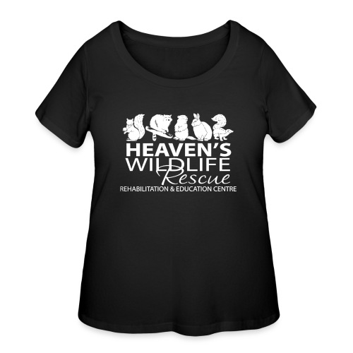 HWR White - Women's Curvy T-Shirt