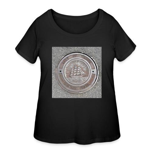 Sewer Tee - Women's Curvy T-Shirt