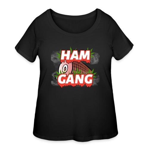 HAM GANG REPPIN - Women's Curvy T-Shirt